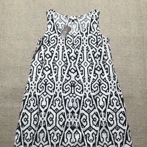 J JILL Love Linen Sleeveless Dress Sz XS NEW